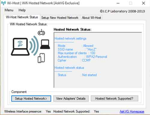 wifi-host-for-windows